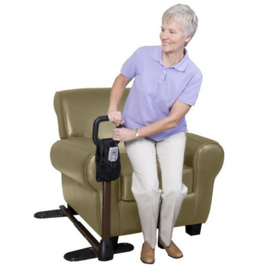 Sofa standing cane aid
