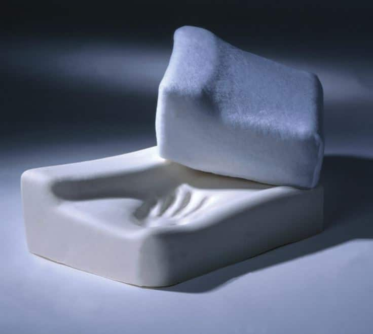memory foam orthopaedic pillow