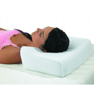 orthopaedic pillow made from memory foam
